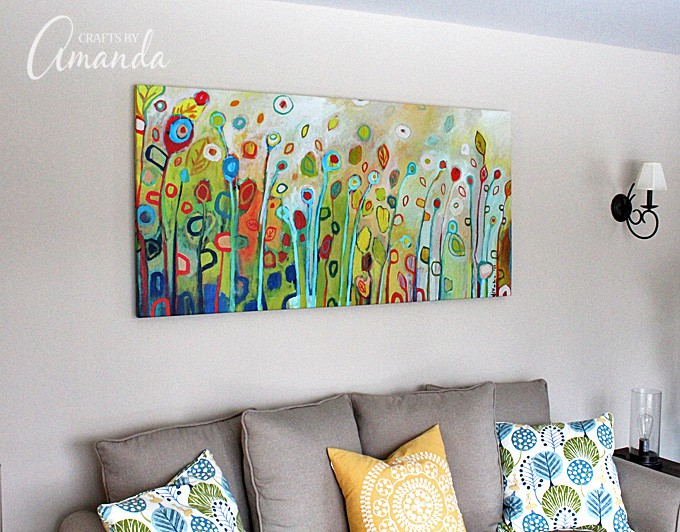 See This Gorgeous Living Room Makeover From Crafts By Amanda A Bright Cheery