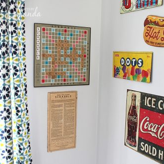 There are lots of ways to repurpose game boards. Wall art, jewelry boxes, frames, game board purses even! Here's a quick way to repurpose game boards into fun wall art, perfect for a game room or family room.