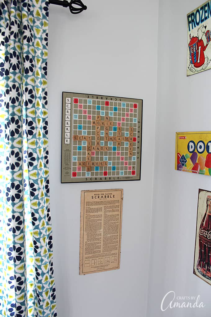 Repurpose Game Boards As Wall Art