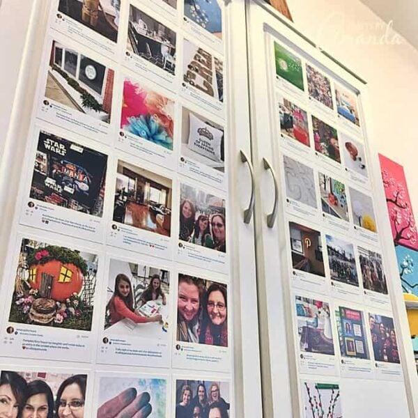 My Instagram Cabinet