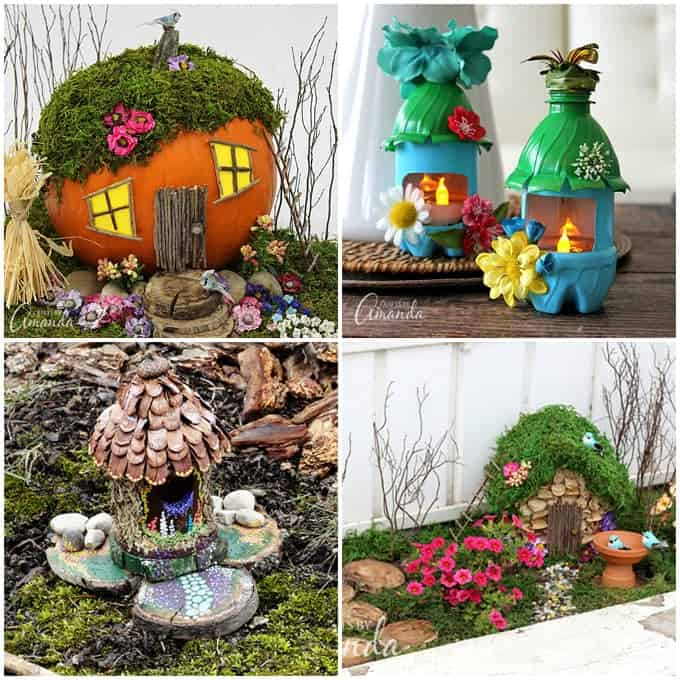 Garden crafts 26 garden craft ideas you can make for Homemade garden decor crafts