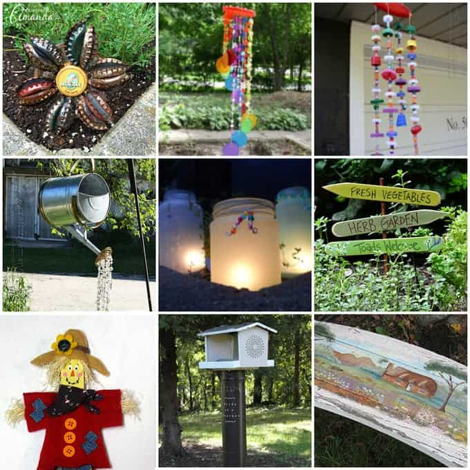 Garden crafts 26 garden craft ideas you can make for Garden decorations to make