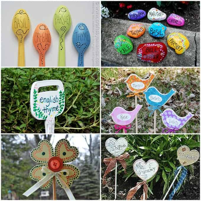 Attractive Outdoor Craft Ideas Gardens Part - 3: Lots Of Garden Crafts That You Can Make! Create Your Own Garden Decorations  With These