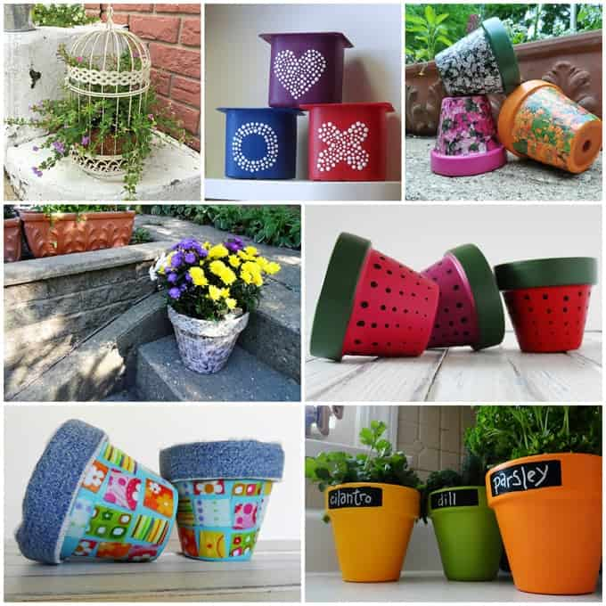 Garden crafts 26 garden craft ideas you can make for Summer craft ideas for adults