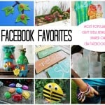 These are the most popular projects being shared on Facebook from Crafts by Amanda. You'll love all of these popular craft tutorials!