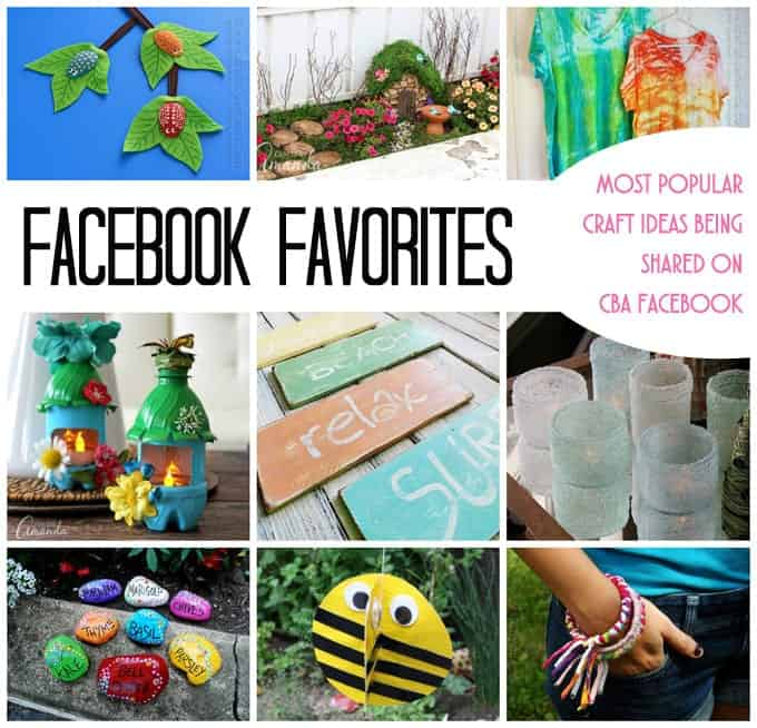 Facebook favorites craft projects you will love crafts for Most popular diy crafts