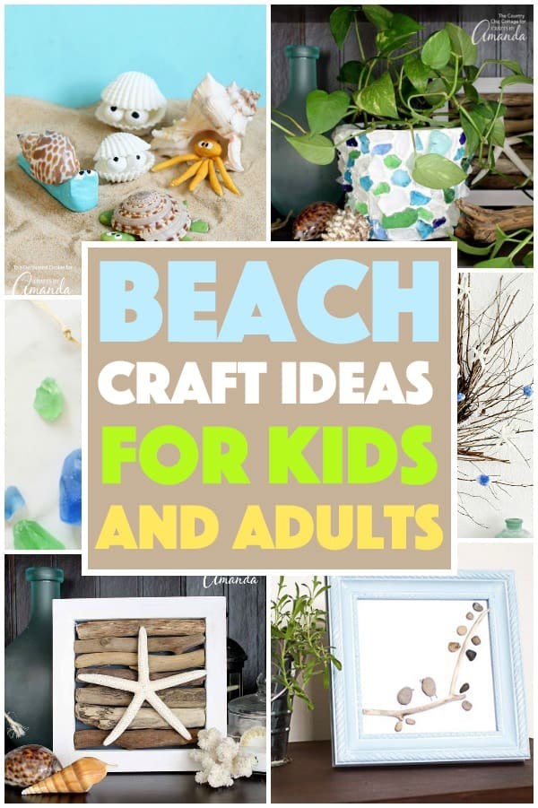 Beach Crafts for Kids and Adults