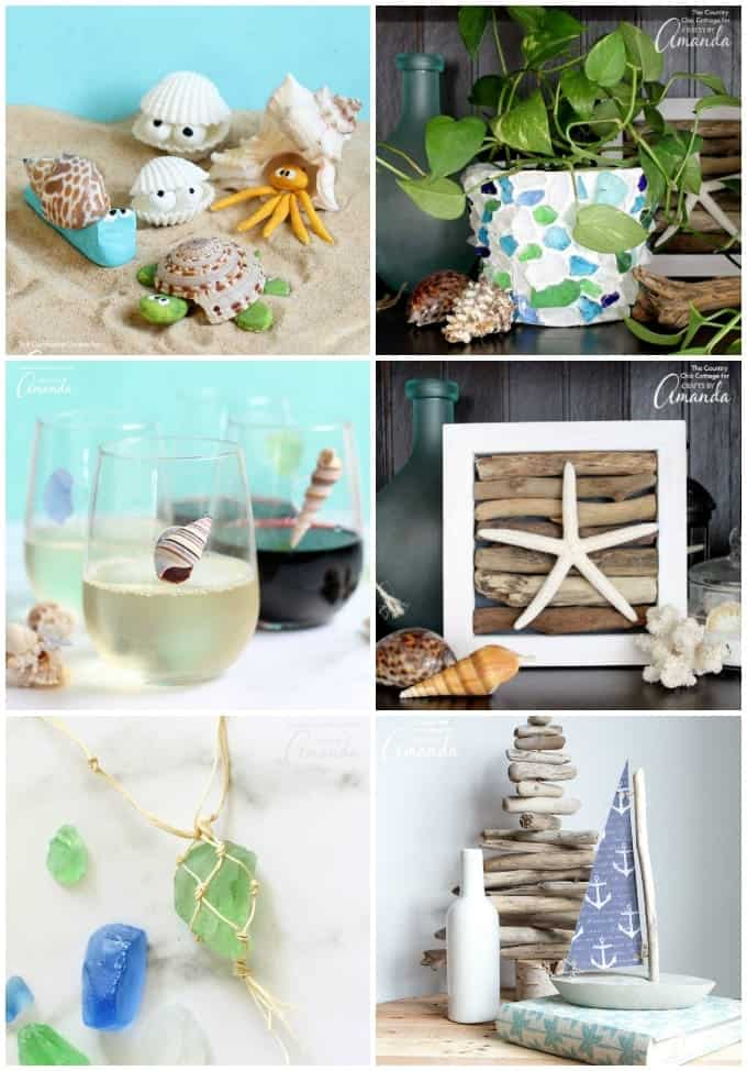 Beach Crafts Roundup