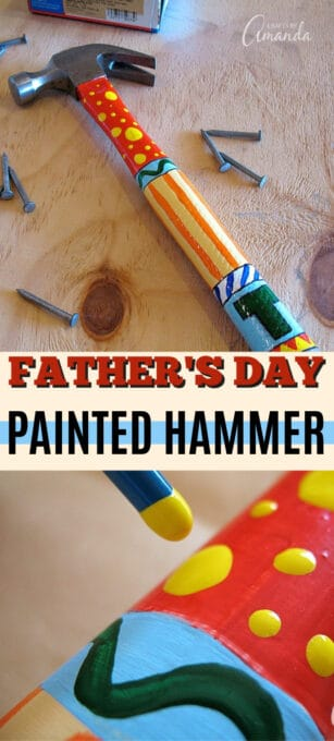 painted hammer pin image