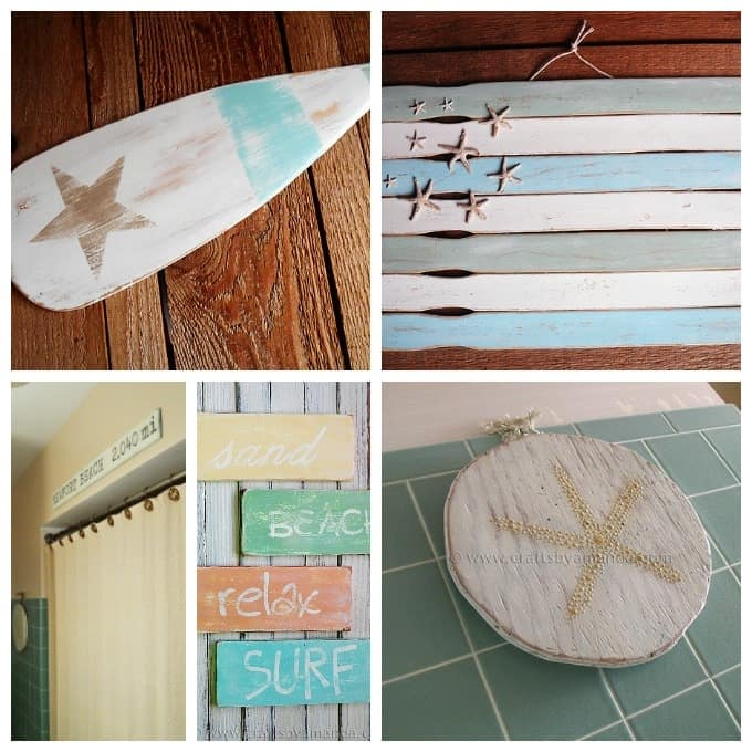 Exceptional Beach Craft Ideas For Kids Part - 14: If You Love Coastal Decor, Seashell Crafts And Beach Crafts, Check Out All  Of