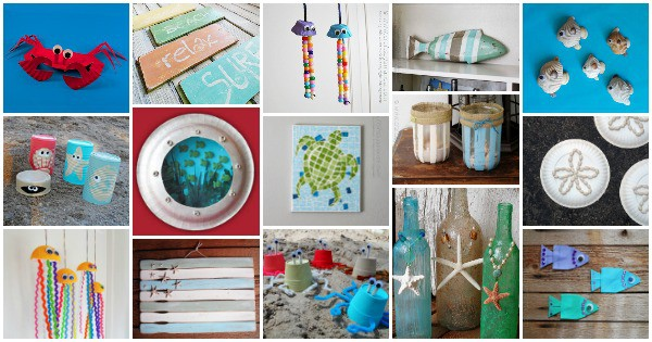 Beach Craft Ideas 35 Beach Crafts For Adults And Kids