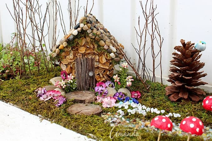 Fairy House Garden year 2 of the craft studio fairy garden