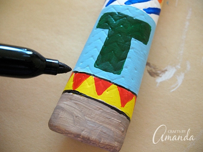 Turn an ordinary hammer into this colorful painted hammer complete with dad's initial monogrammed on the handle! A personalized, unique Father's Day gift!