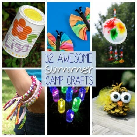 It's summer, and that means summer camp! Camp crafts are among the most popular summer camp activities, so here are over 30 camp crafts to try!