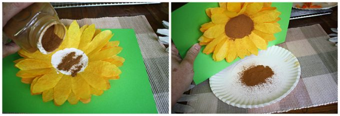 Coffee Filter Sunflowers: A fun sunflower craft for kids