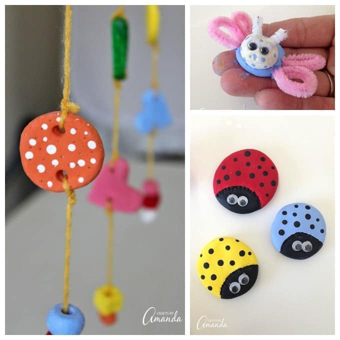 Crafts Ideas For Kids Part - 48: Creating Air Dry Clay Projects Is Fun And Kids Will Love Using Their  Imaginations To Make