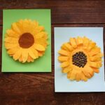 Coffee Filter Sunflowers