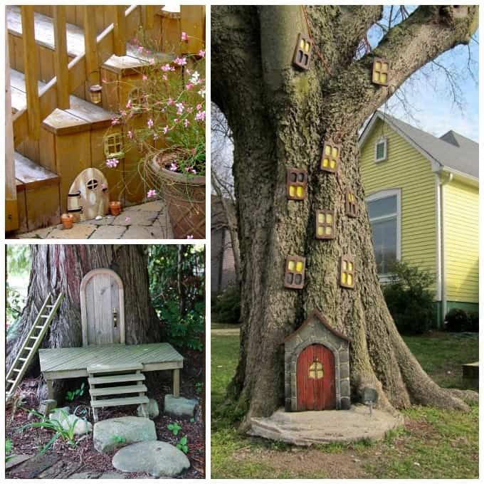 Fairy garden ideas inspiration for your own fairy garden for Outdoor fairy door