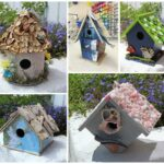 Birdhouse crafts are fun and can be so unique! Being creative can be challenging, but once you learn a few techniques you'll be ready to make your own!