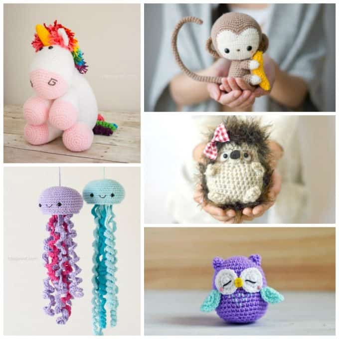 Free Crochet Patterns: Over 40 crochet tutorials and ideas