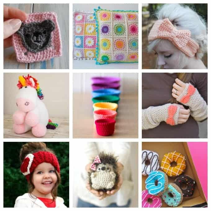 This collection of free crochet patterns includes simple crochet designs, holiday crochet patterns, cute animals, wearable items and so many more!
