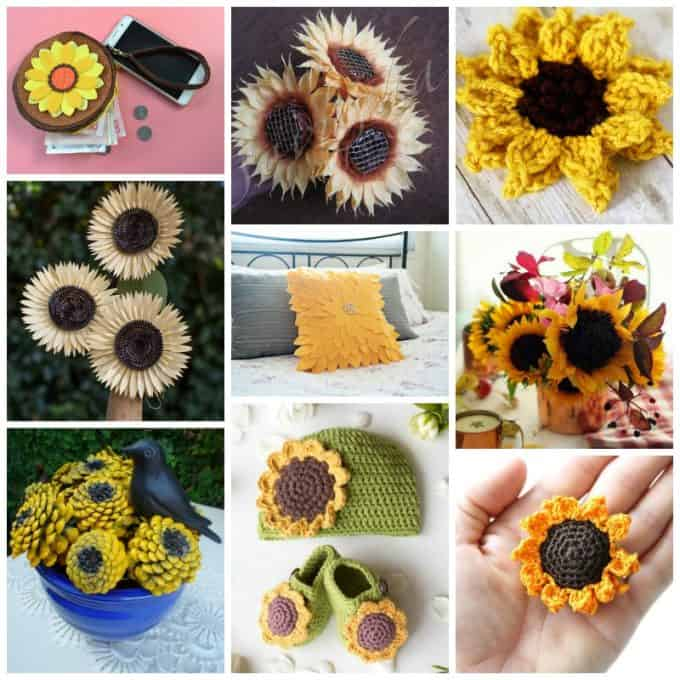 sunflower crafts