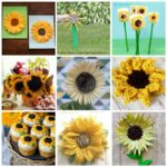 50+ Sunflower Crafts and Recipes