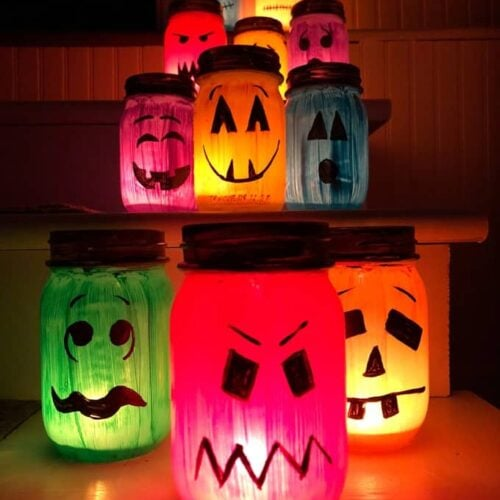 Halloween Luminaries Crafts By Amanda Halloween Crafts