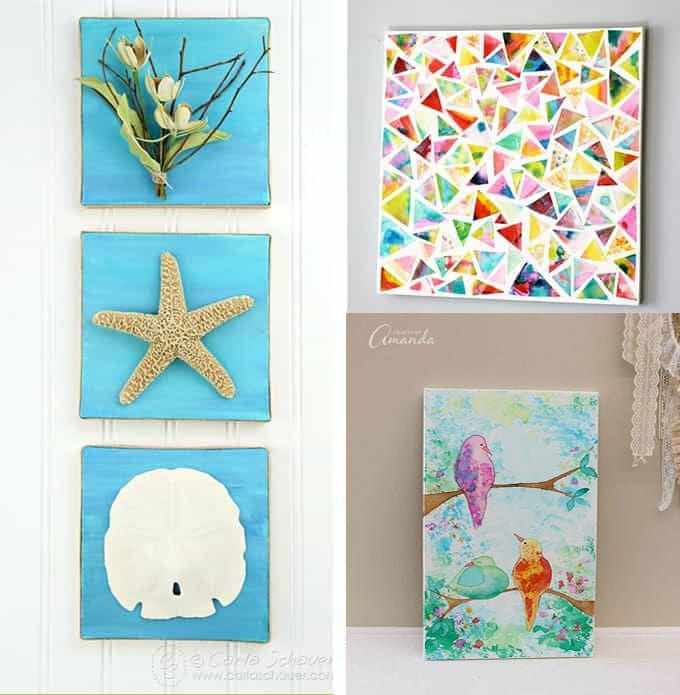 canvas wall art collage