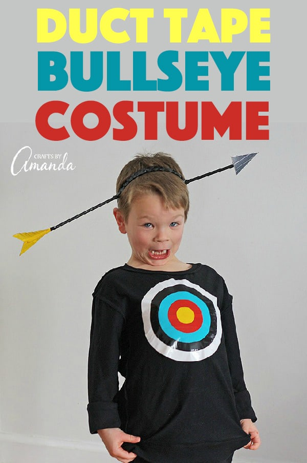 Duct Tape Bullseye Costume