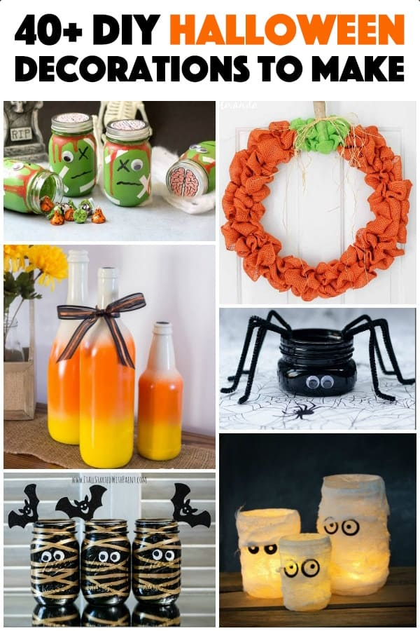 lots of diy halloween decorations