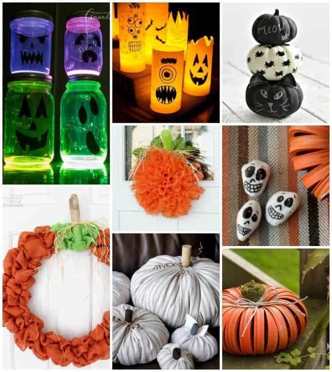 50+ DIY Halloween Decorations: homemade Halloween decor