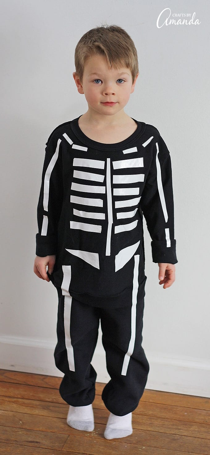 It's just a graphic of Skeleton Costume Template Printable within svg