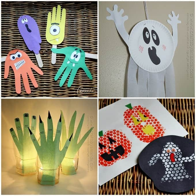 Fun Halloween crafts for kids, there are SOOOO many Halloween crafts on this site!