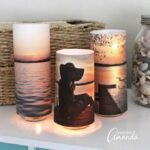 Photo Luminaries from Paper