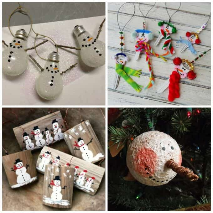Snowman ornaments - perfect for gift giving!