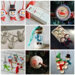 25+ Festive DIY Christmas Snowman Ornaments