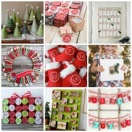 The number of advent calendar ideas out there is astonishing! Here are more than 25 advent calendar ideas to get you started. Make your own advent calendar!