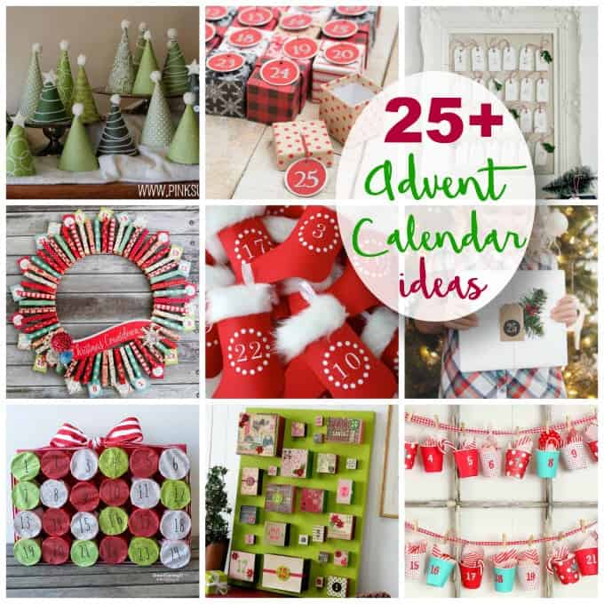 Calendar Kit Ideas : Advent calendar ideas you can make crafts