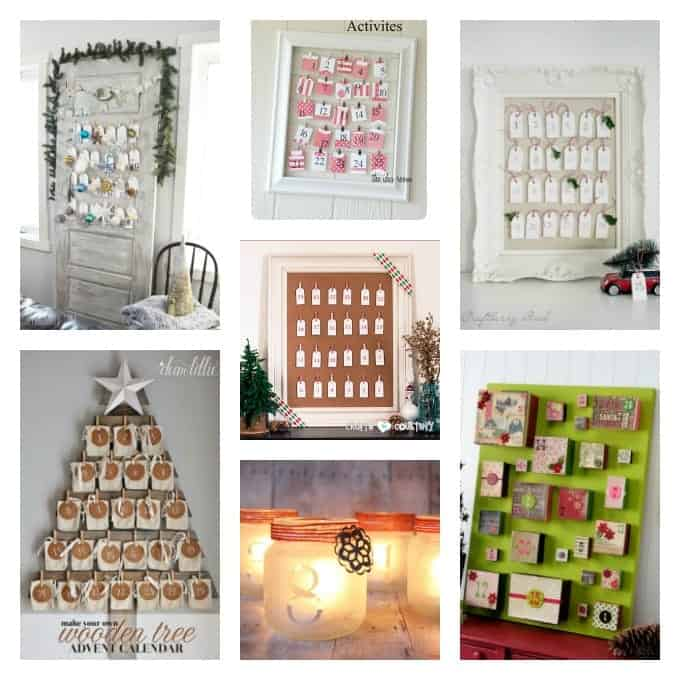 Now just so you know, the advent calendar ideas that can be ound are not just for kids! Here's some beautiful advent calendar the adults will love too.