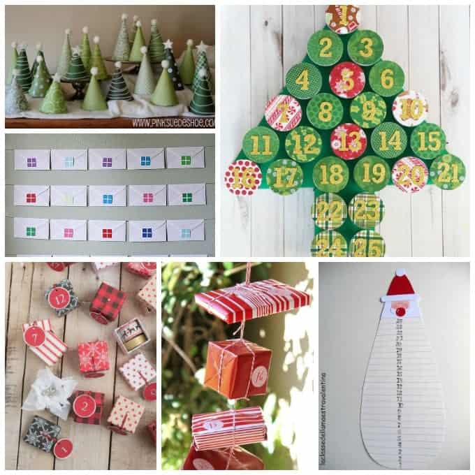 If you are looking for advent calendar ideas that the kids can actually help make, here are some that we found that are very kid friendly.