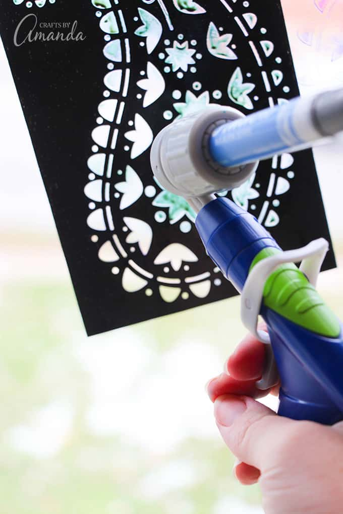 crayola window air brush sprayer