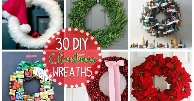 Christmas Wreaths 30 Diy Christmas Wreath Ideas You Can Make