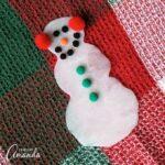 Make a Glue Snowman