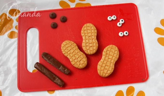 Dachshund Cookie Cupcakes ste 1
