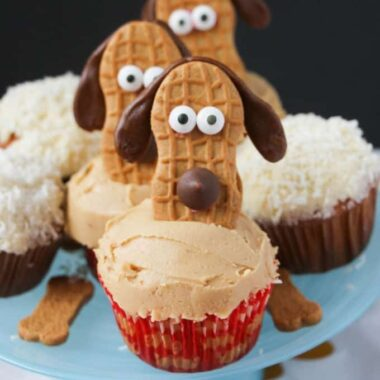 Nutter Butter Puppy Cupcakes