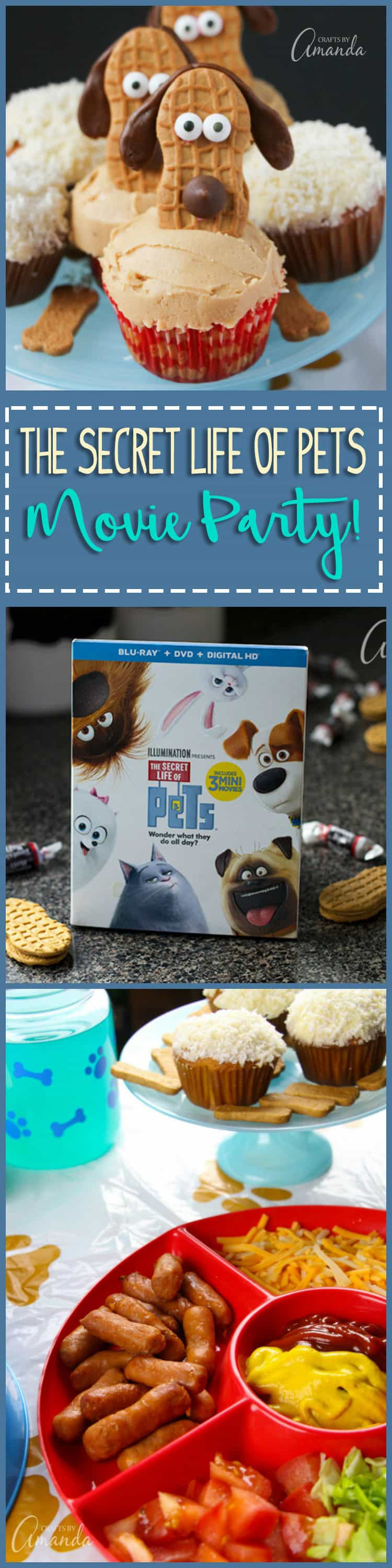 We made adorable dachshund cookie cupcakes and several other goodies for our movie night party, inspired by @PetsMovie now on DVD and Blu-ray! #TheSecretLifeOfPets #PetsPack #AD