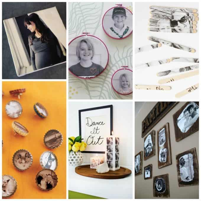 Photo transfers, recycled crafts, embroidery projects and so much more!
