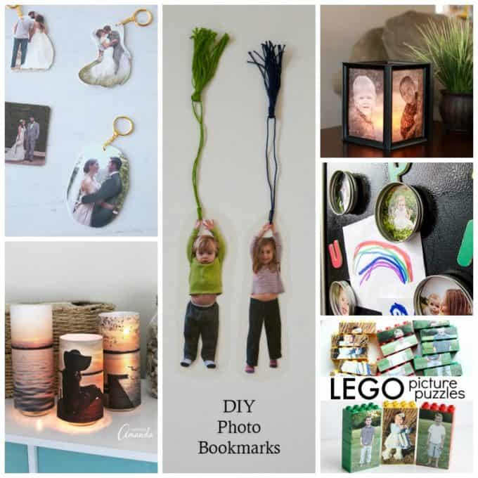 There are tons of DIY photo projects floating around the web, all of which are great ideas and fun to craft up! Make a DIY photo project as a gift for someone you love or turn them into a fun craft night project with friends and family!