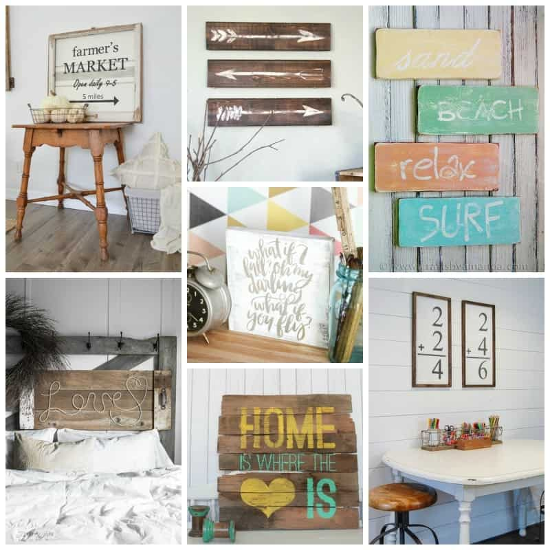 From rustic beachy, to farmhouse style, we've got you covered!